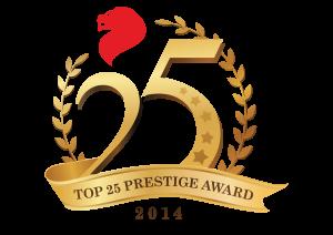 TOP 25 PRESTIGE LOGO 2014